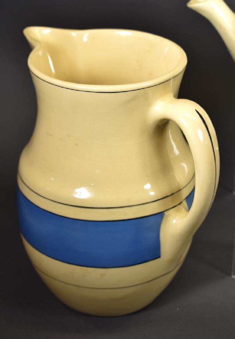 Roseville Creamware Lot, Circa 1930's, 7 Pcs - 3