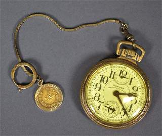 Waltham Gold Filled Pocket Watch