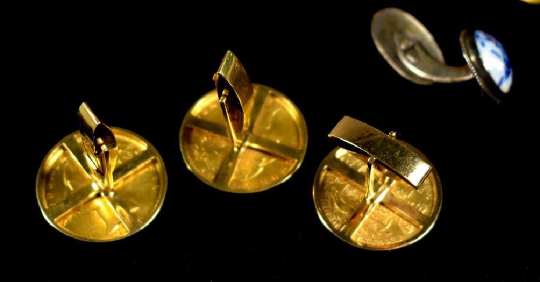 Four Coin Cufflinks - Victoria - 4