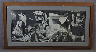 Print of Guernica by Pablo Picasso