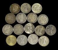 Group of Silver Half Dollars