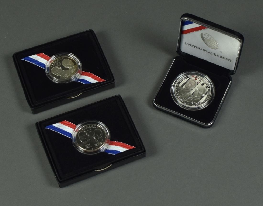 Three 2013 Five-Star Generals Commemorative Coins One