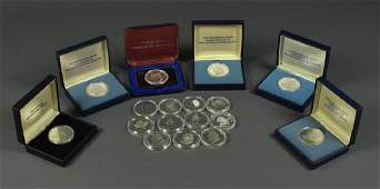 17 Bicentennial Committee Sterling Medals 6 are in