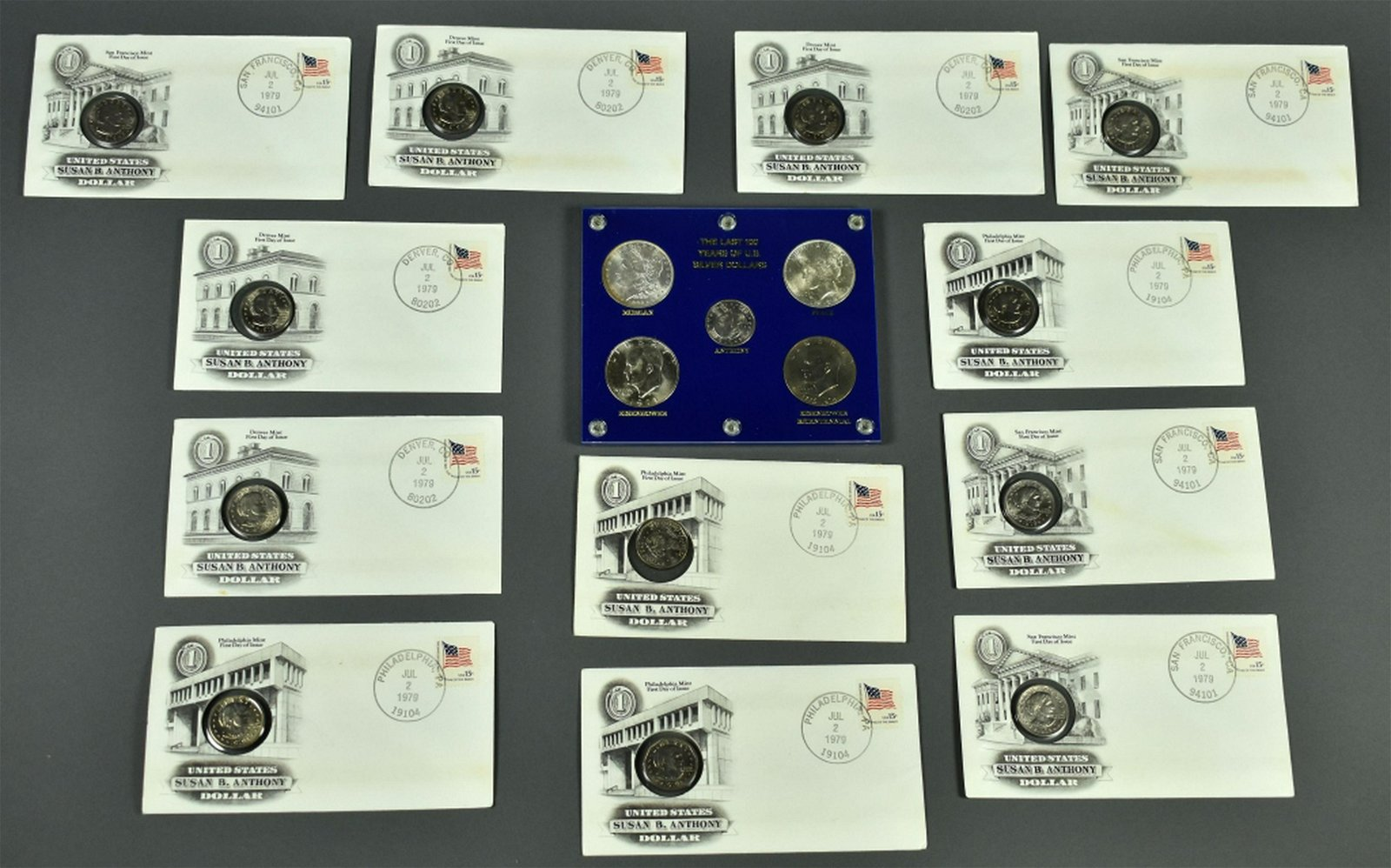Set of Uncirculated Dollars -Last 100 Years