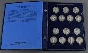 Walking Liberty Coin Set