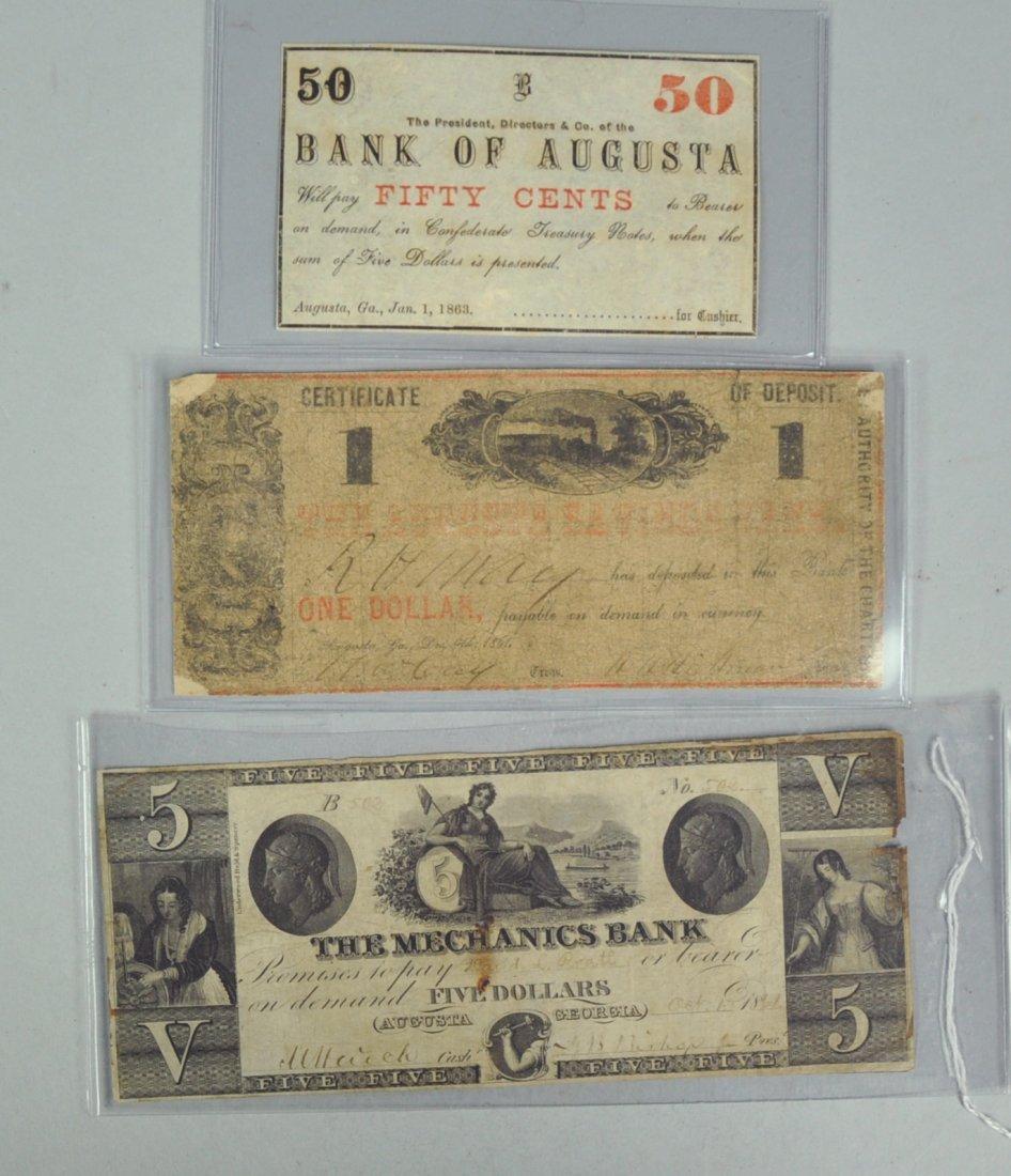 3: Three Obsolete Augusta, Georgia Notes