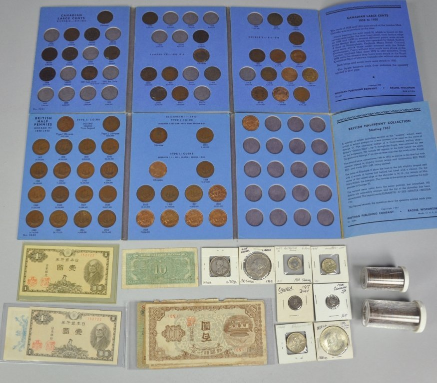 12: World Coin & Currency Lot