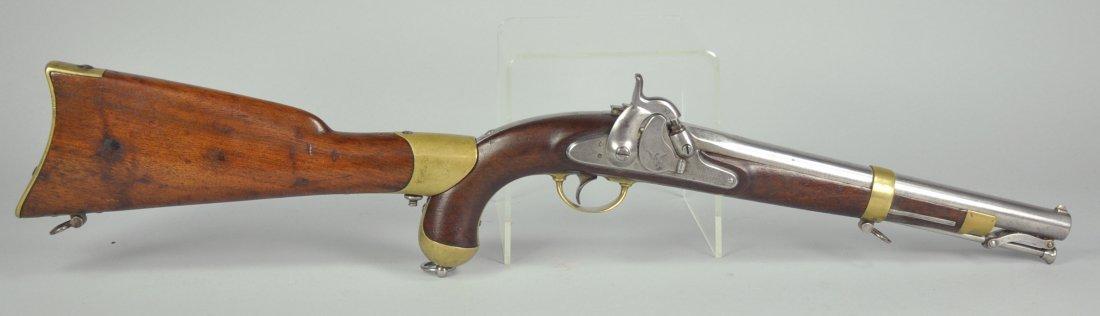 177: Model 1855 Percussion Pistol / Carbine with Attach