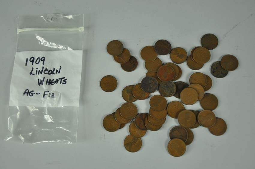 49 Lincoln Wheat Cents