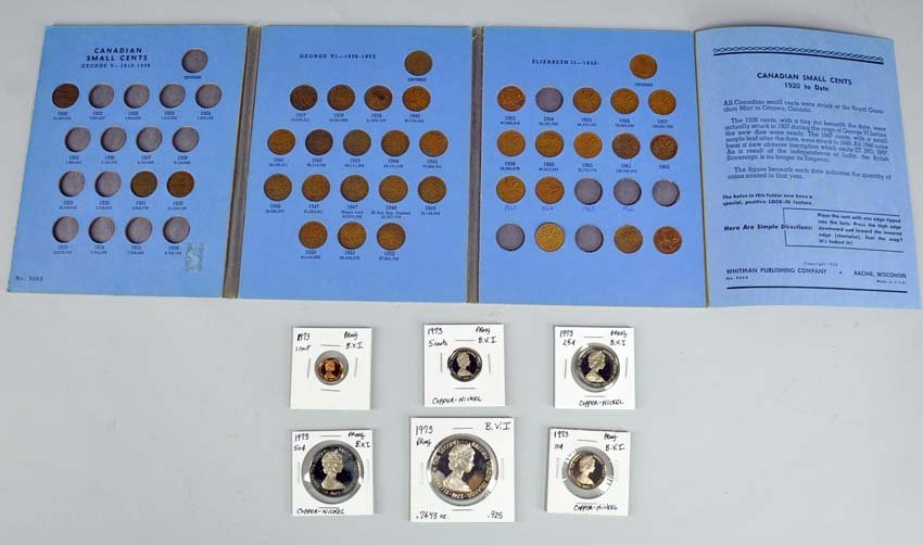 1973 British Virgin Islands Six-Coin Proof Collection