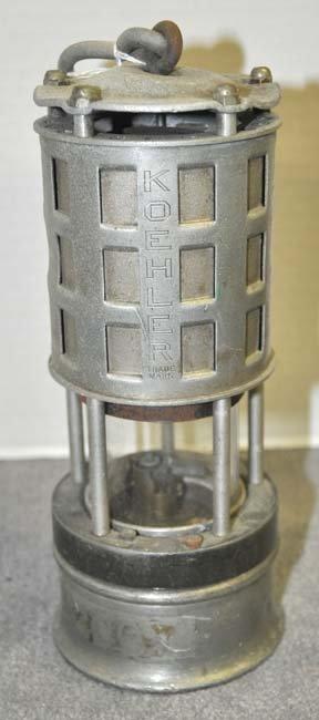 Koehler Flame Safety Lamp