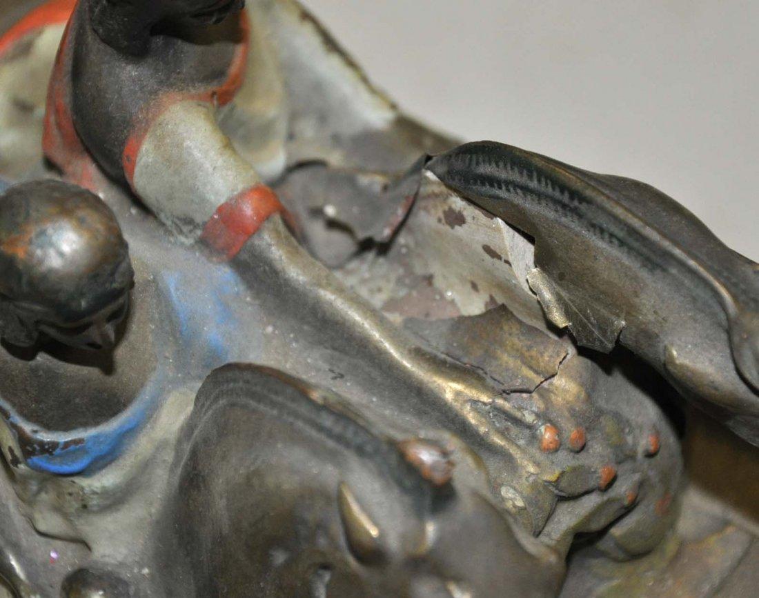 Bronze Clad Scupltural Bookends - 3