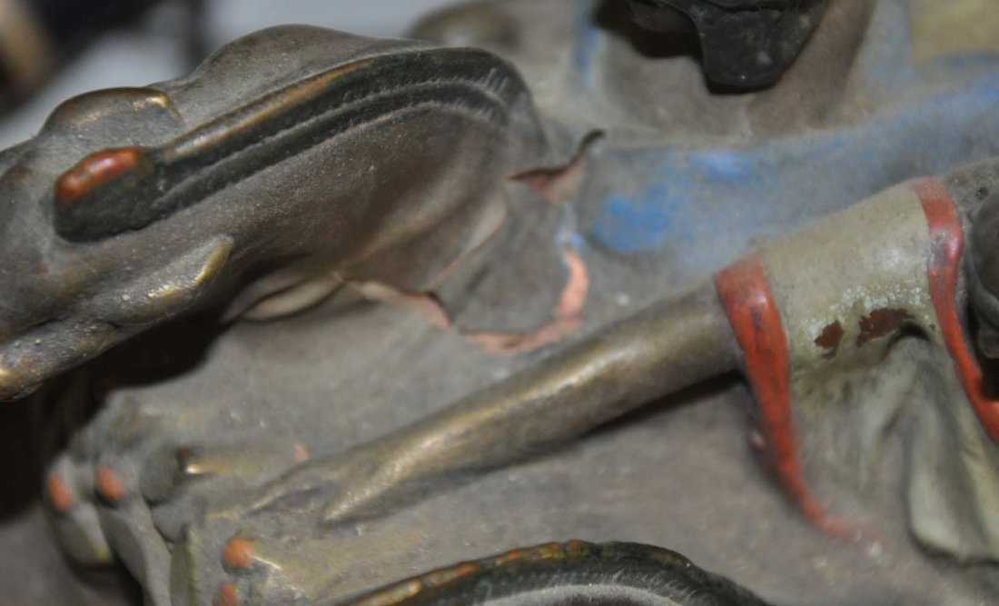 Bronze Clad Scupltural Bookends - 4
