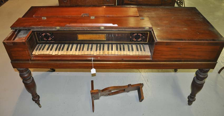 English John Broadwood & Sons Square Piano