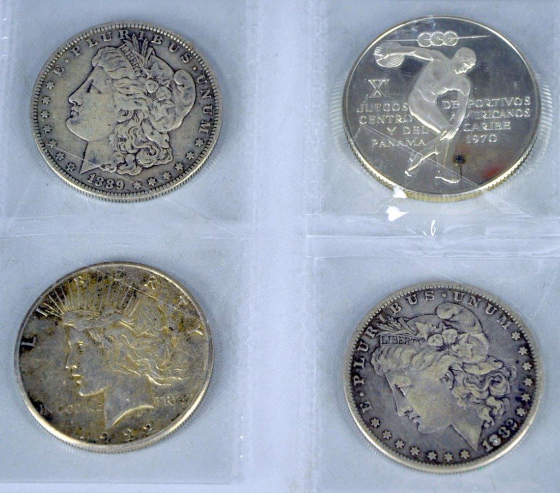 1889-O & 1882 Morgan Dollars, Plus 1922-S Peace Dollar