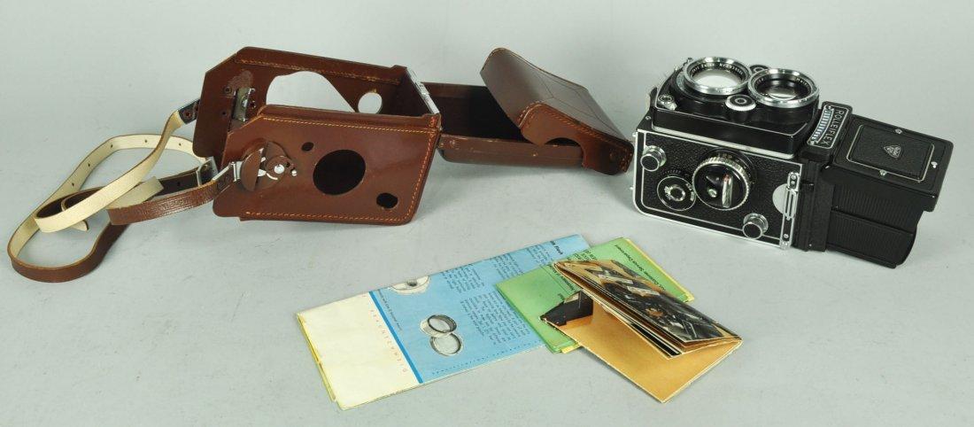 Rolleiflex 2.8 F Camera