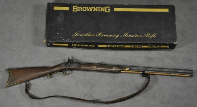John Browning Mountain Rifle .54 Cal. Percussion