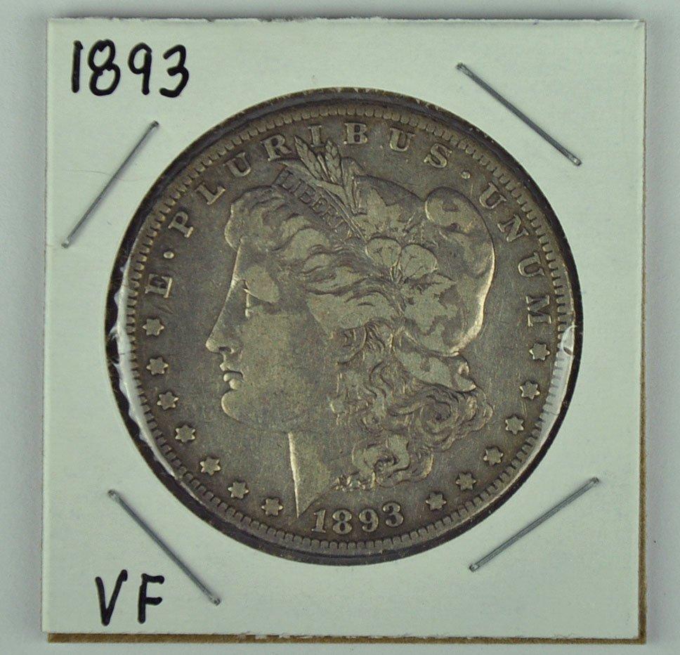 1893 Morgan Dollar