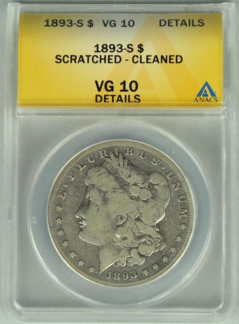Very Rare 1893-S Morgan Dollar