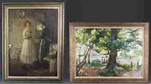 Biggs, Walter Oil on Canvas