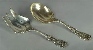 Sterling Flatware Service Pieces