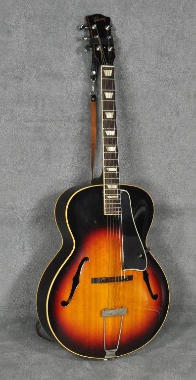 1960 Gibson L-50 Sunburst Acoustic Guitar