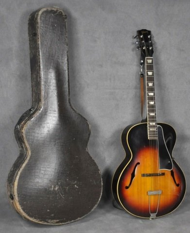 1960 Gibson L-50 Sunburst Acoustic Guitar - 2
