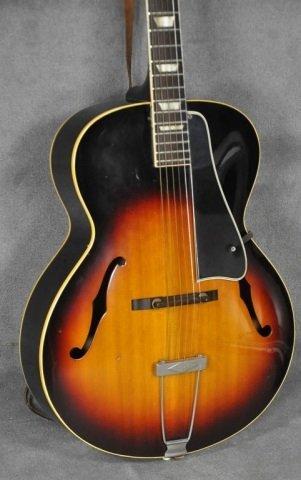 1960 Gibson L-50 Sunburst Acoustic Guitar - 3