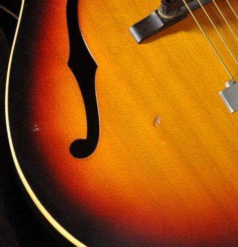 1960 Gibson L-50 Sunburst Acoustic Guitar - 5