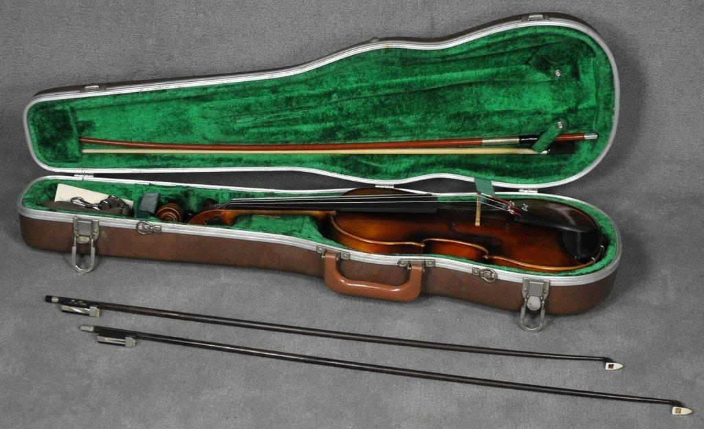 1966 E.R. Pfretzschner Violin, Mittenwald OBB