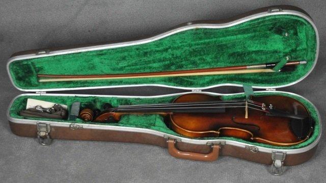 1966 E.R. Pfretzschner Violin, Mittenwald OBB - 2