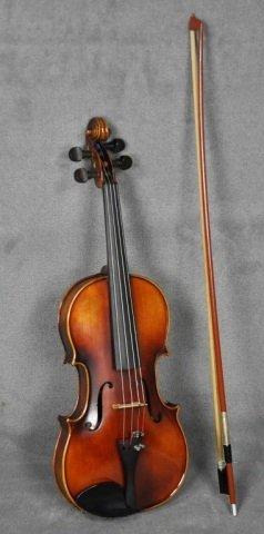 1966 E.R. Pfretzschner Violin, Mittenwald OBB - 3