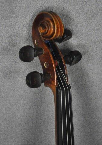 1966 E.R. Pfretzschner Violin, Mittenwald OBB - 4