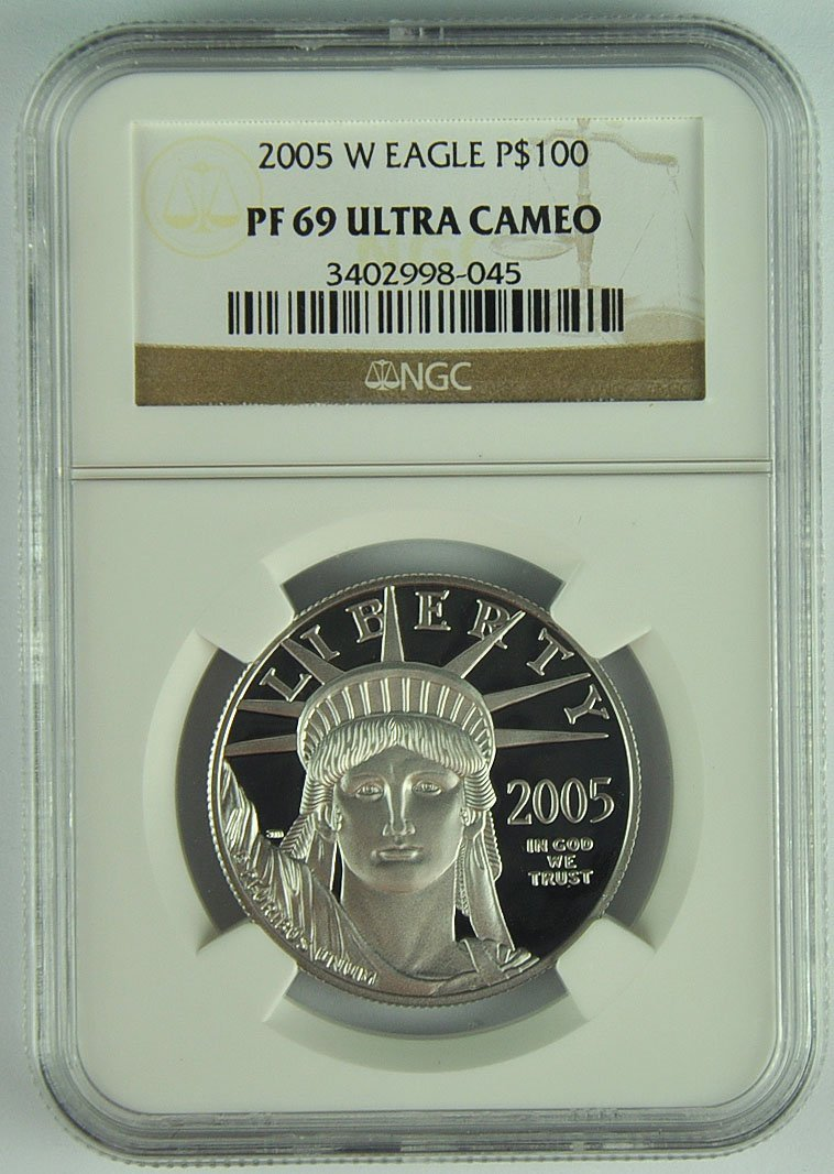 2005-W Eagle 1 oz. Platinum Coin