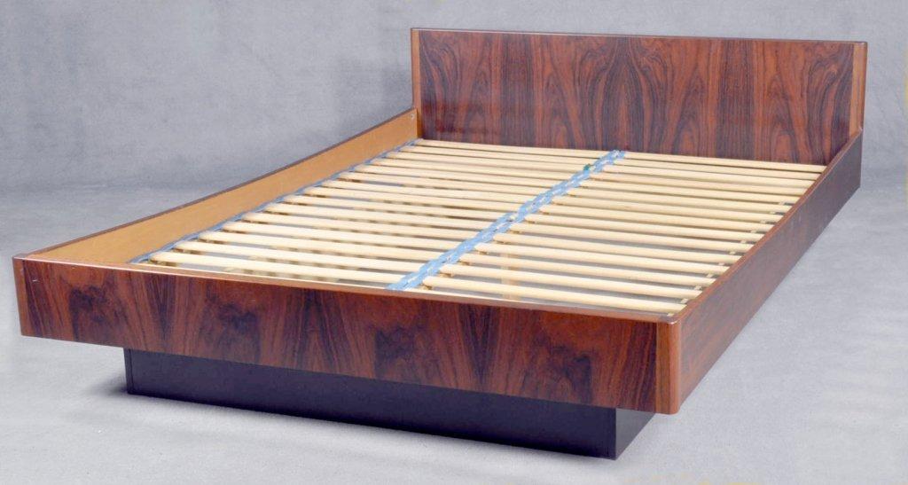 W.B. Mobler Danish Modern Platform Bed