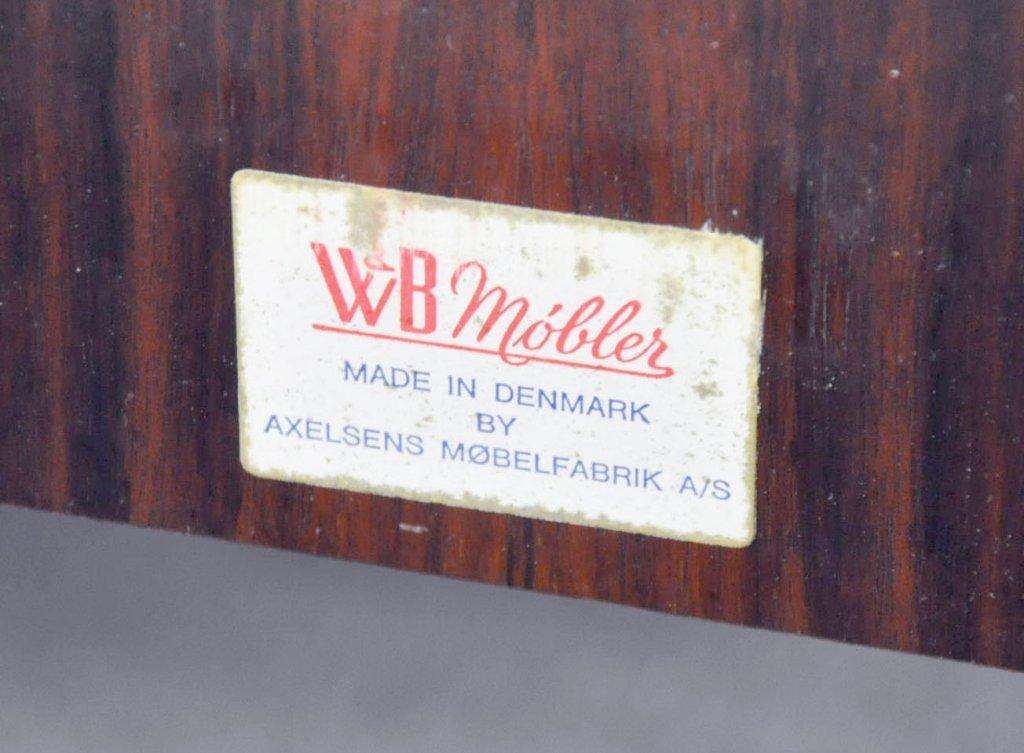 W.B. Mobler Danish Modern Platform Bed - 4