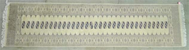 Silky Wool Bokhara Runner