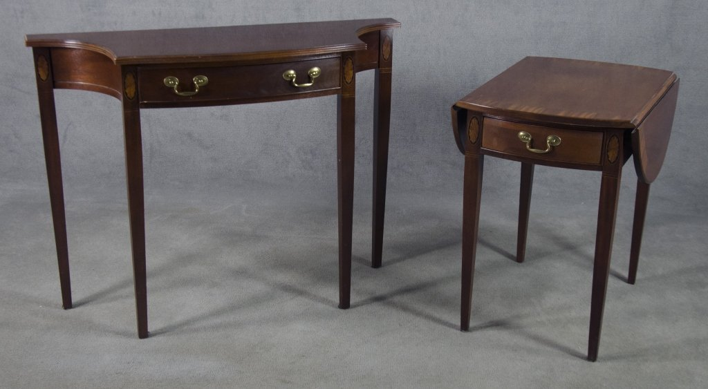 Two Federal-Style Hammary Tables