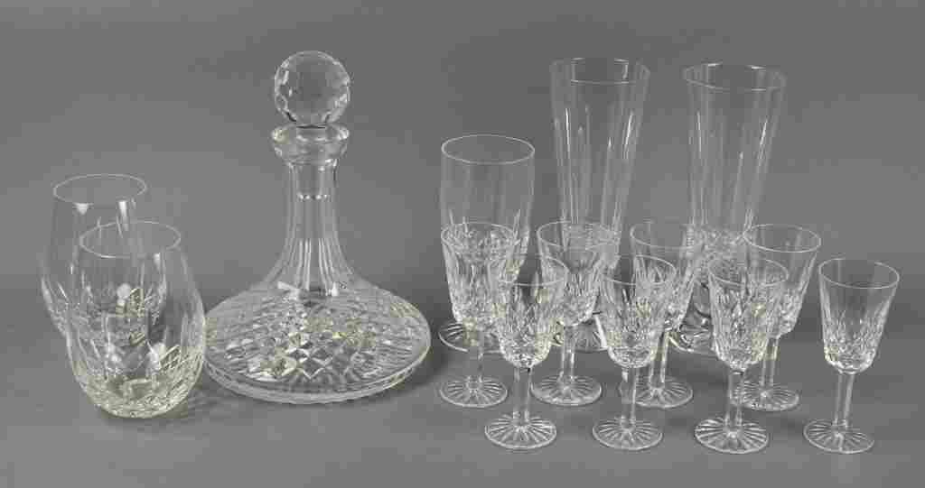 Set of Eight Waterford Crystal Liqueurs