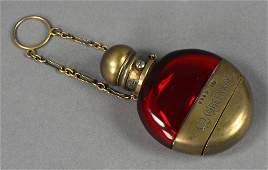 Chatelaine Cranberry Vinaigrette Perfume Bottle