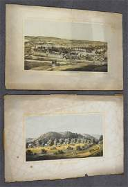 "Two Edward Beyer ""Album of Virginia"" Lithographs"