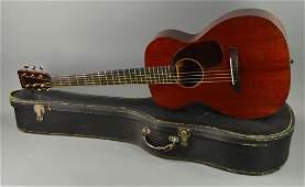 1936 Martin Acoustic Guitar 0-17