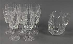 Set of Waterford Crystal Stemware