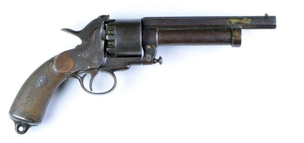 Confederate Lemat 9-Shot .42 Caliber Pistol