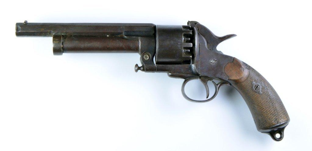 Confederate Lemat 9-Shot .42 Caliber Pistol - 2