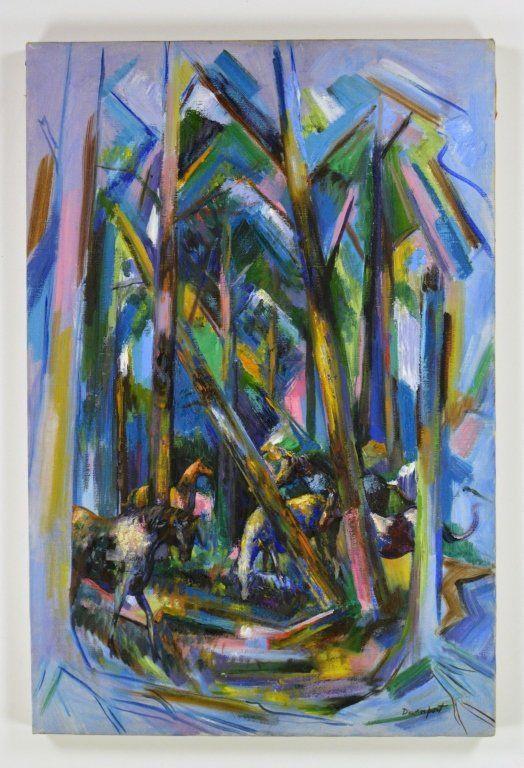 Davenport, Carson Oil on Canvas