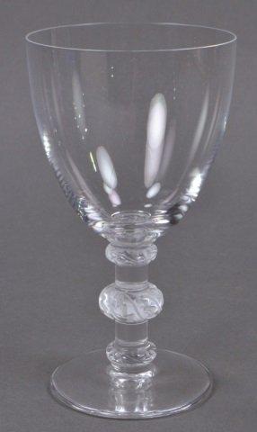Set of Lalique Saint-Hubert Water Glasses - 2