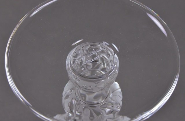 Set of Lalique Saint-Hubert Water Glasses - 3