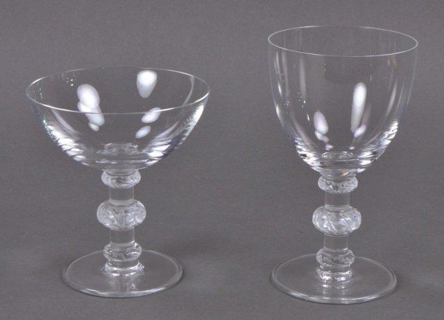 Group of Lalique Saint-Hubert Glasses - 2