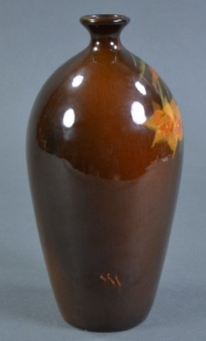 Delicate Roseville Rozane Ware Narcissus Vase - 2